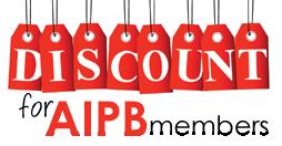 discount for AIPB members